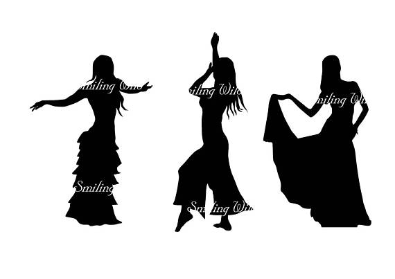 570x403 Vector Art Oriental Dance Svg Indian Dance Silhouette Dancer