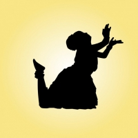 200x200 Indian Classical Dancer Free Vector Graphic Art Free Download