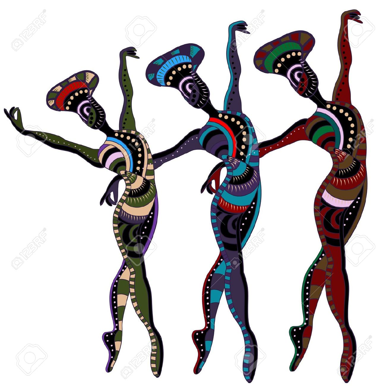 1269x1300 Indian folk dance clipart collection