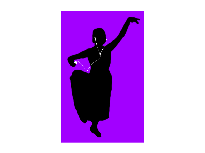 800x600 Ipod Silhouette Indian Dancer By Wistfulwish