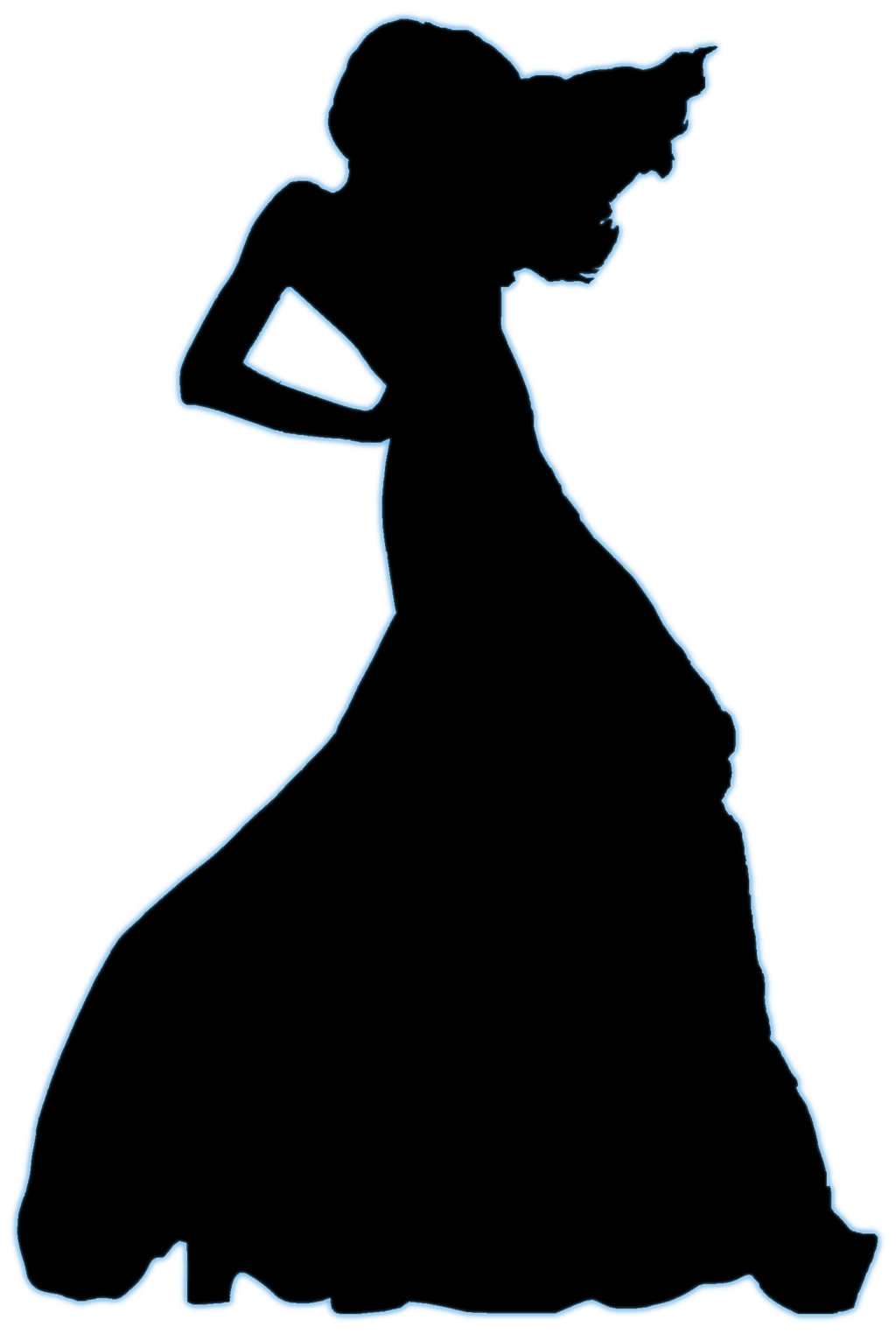 1024x1524 Woman Head Silhouette Clipart