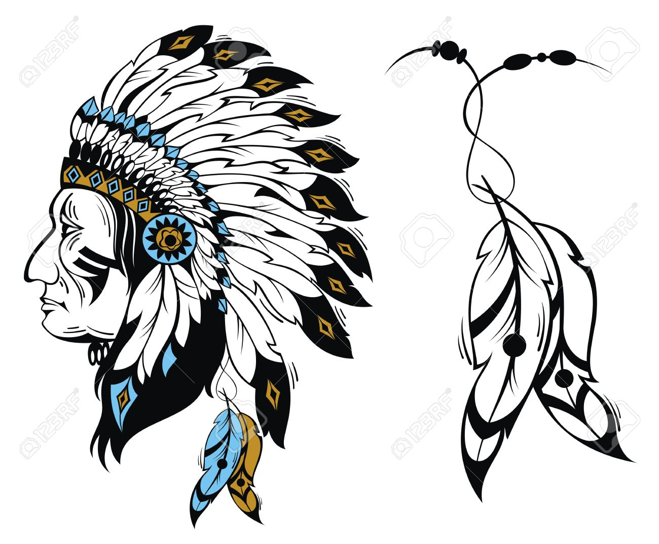 indian head silhouette at getdrawings com free for personal use rh getdrawings com indian head clip art free indian head clipart