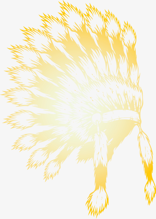 650x912 Indian Headdress Silhouette Vector, Vector, Indian Headdress