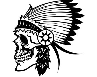 340x270 Indian Head Svg Etsy