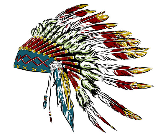 570x466 Indian Headdress Svg Headdress Svg