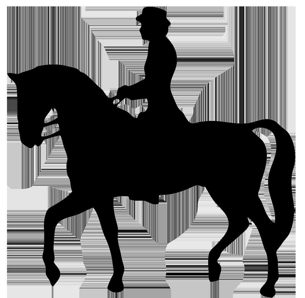 1004x983 Man Riding Horse Clipart