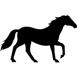 300x300 Animal Silhouette Clipart
