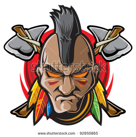 450x453 Indians Clipart Indian Warrior