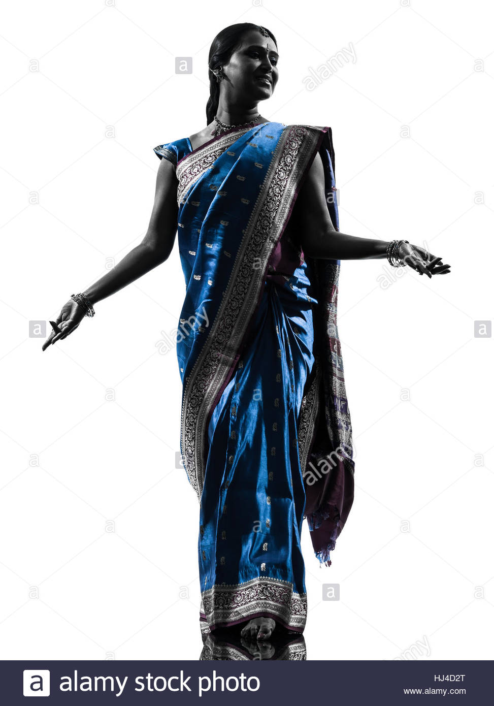973x1390 Indian Girl Silhouette Dancing On Stock Photos Amp Indian Girl
