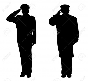 288x265 Indian Soldier Salute Clipart