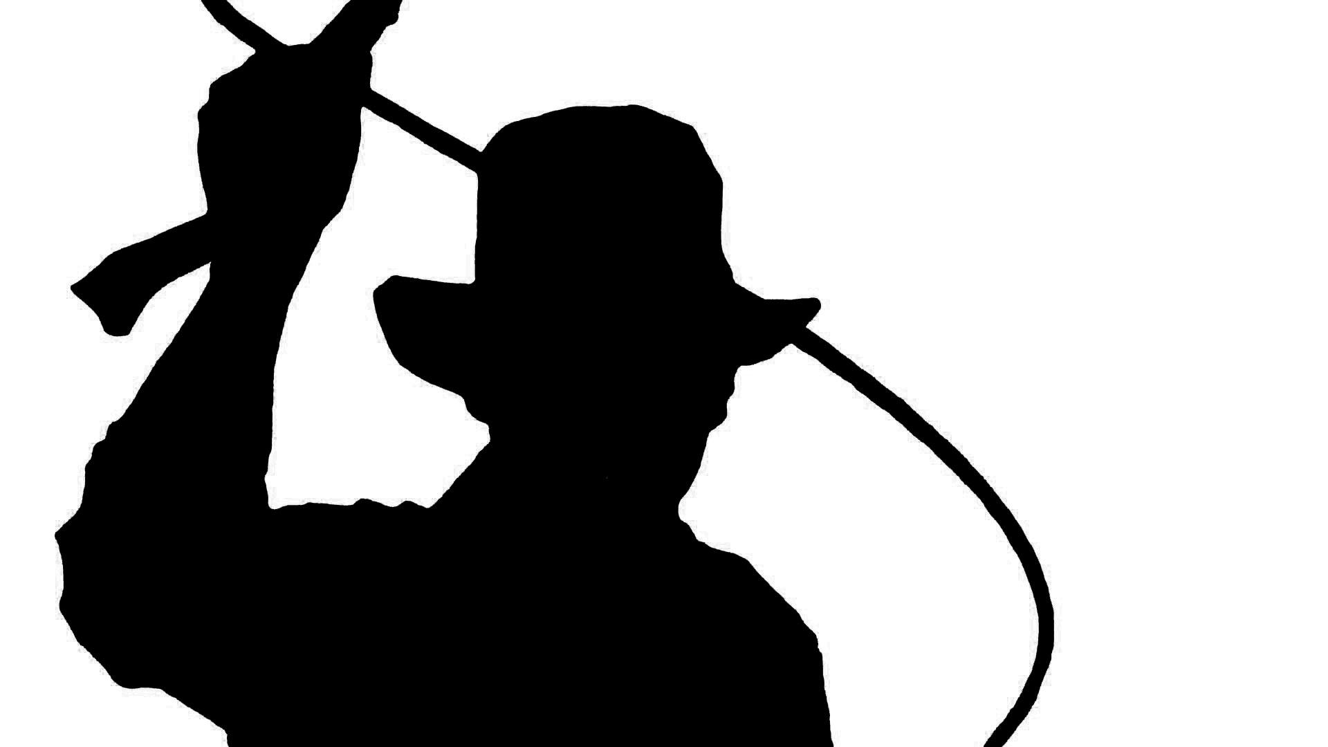 1920x1080 Silhouette Of Indiana Jones Nicole Kennedy Design
