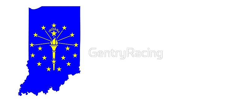 800x331 State Of Indiana Silhouette And Flag Mugs By Gentryracing Redbubble
