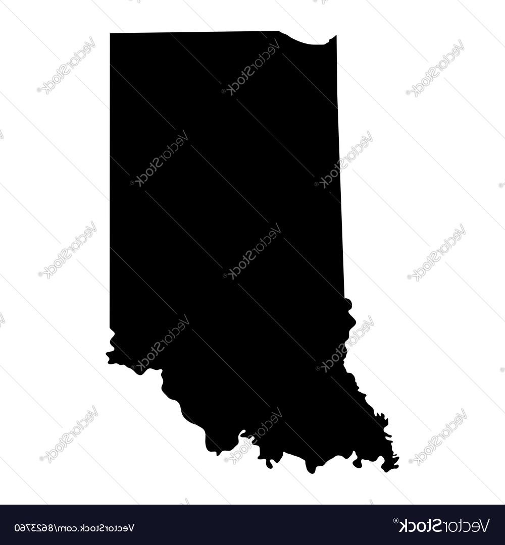 1000x1080 Best 15 Map Of The Us State Indiana Vector Cdr