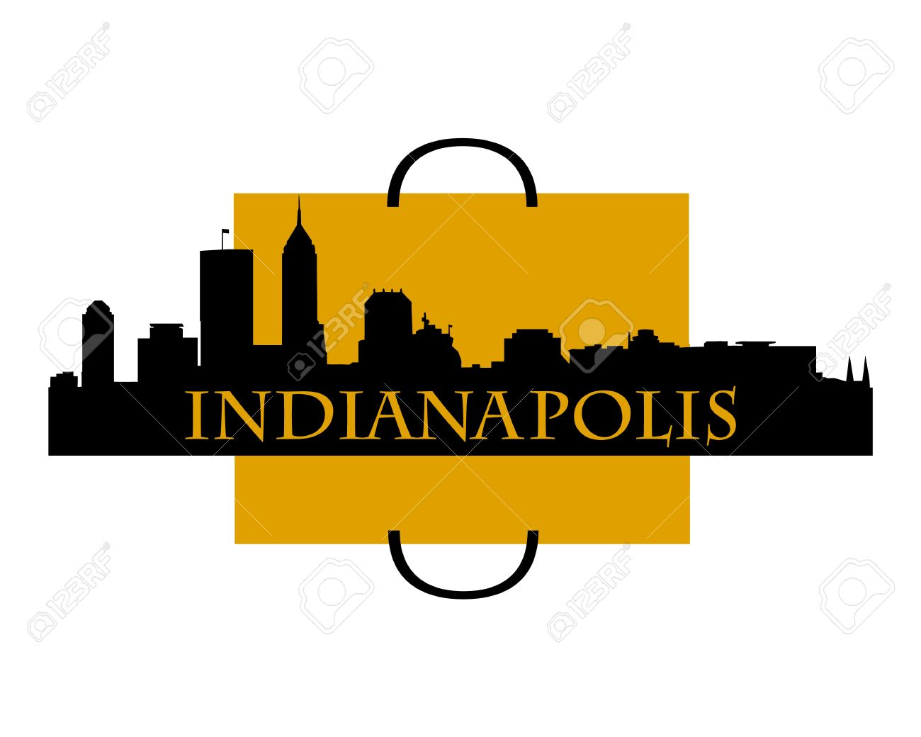 1300x1040 Indianapolis Skyline Clipart Collection