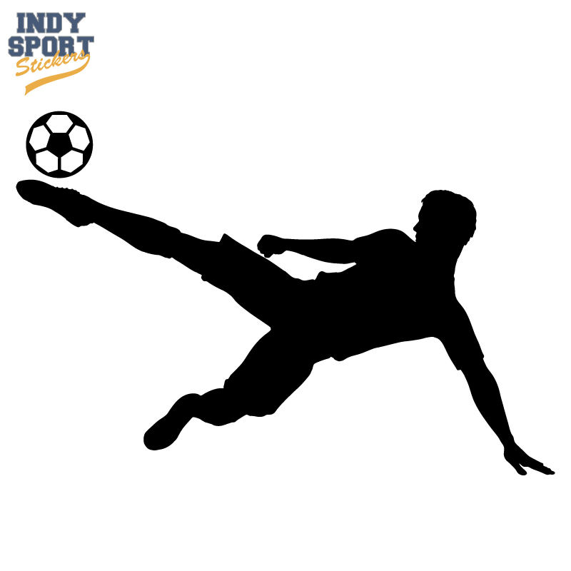 800x800 Soccer Player Silhouette Sidekick Ball
