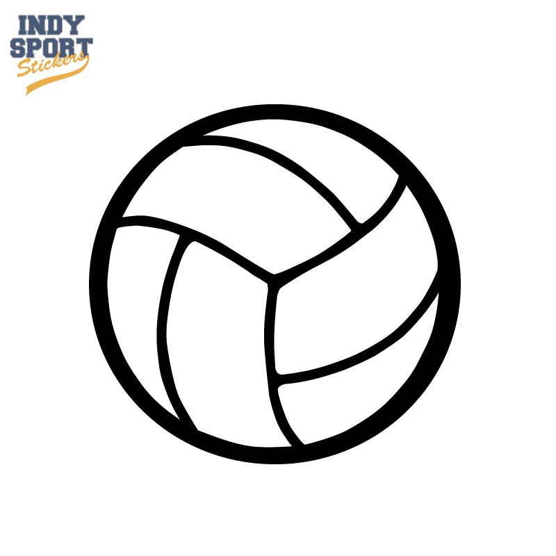 800x800 Volleyball Silhouette