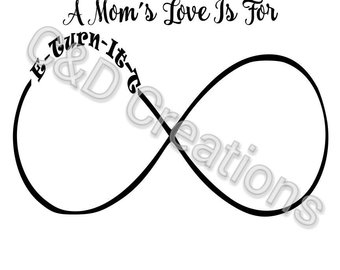 340x270 Infinity Sign Svg Etsy