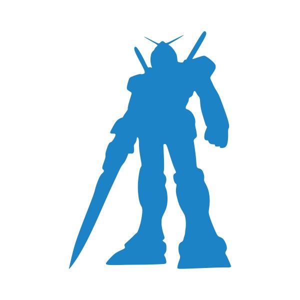600x600 Gundam Pack Cuttable Design Cut File. Vector, Clipart, Digital