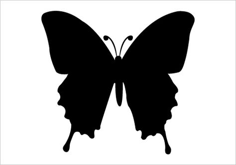 474x332 16 Best Insects Silhouette Images On Silhouette Vector