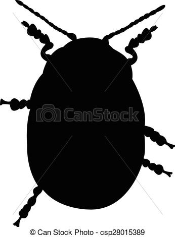 346x470 An Insect Silhouette Vector
