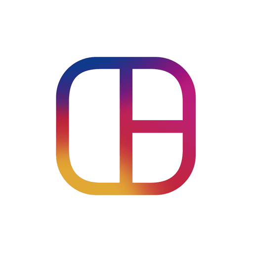 512x512 Instagram Logo Silhouette