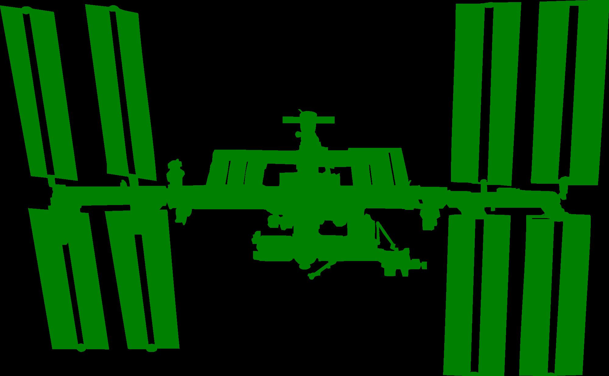 2000x1236 Fileinternational Space Station Silhouette.svg