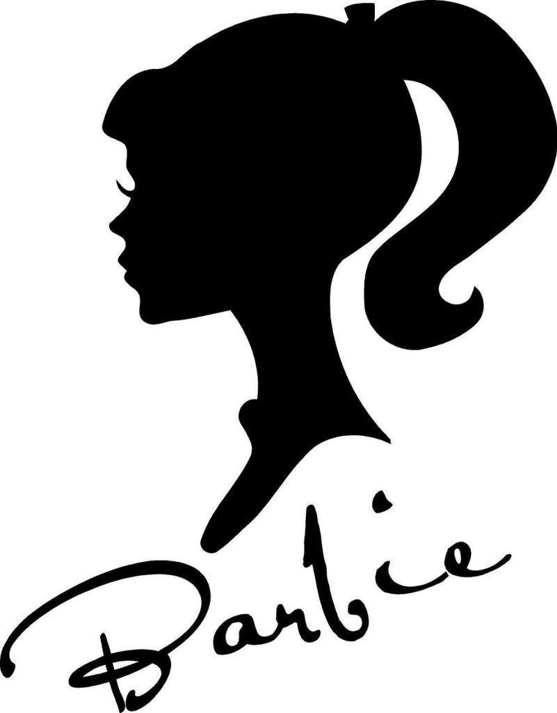 801x1024 Barbie Vinyl Wall Art Decal International Expressions Online