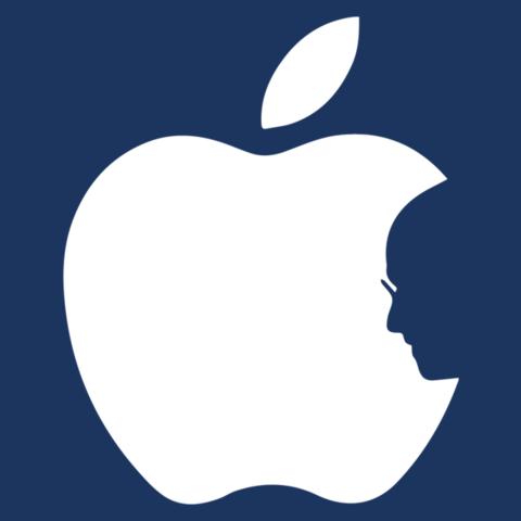 480x480 Steve Jobs Apple Silhouette