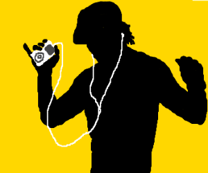 300x250 Angel Silhouette In Old Ipod Commercial
