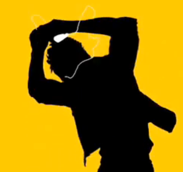 363x341 Glee Actor I Was An Apple Ipod Silhouette The Mac Observer