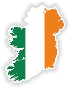 Ireland Map Silhouette