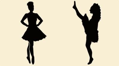 400x225 Irish Dance Wall Stickers Umbra Duir