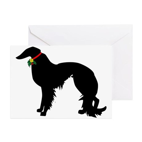 460x460 Irish Setter Christmas Greeting Cards