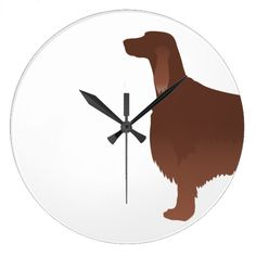 236x236 Irish Setter Driving A Car With A Tree On Top. Plate Irish