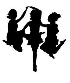 236x278 Irish Dancing Silhouettes Crafts And Diy Irish