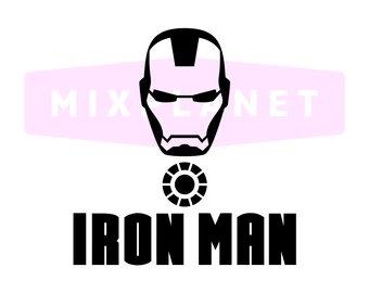 340x270 Iron Man Silhouette Etsy