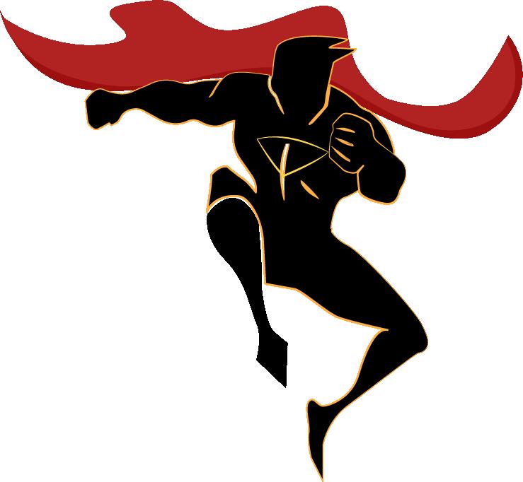 739x682 Clark Kent Iron Man Superhero Silhouette