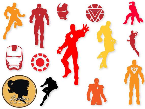 570x428 Iron Man Svg Iron Man Clip Art Digital Download