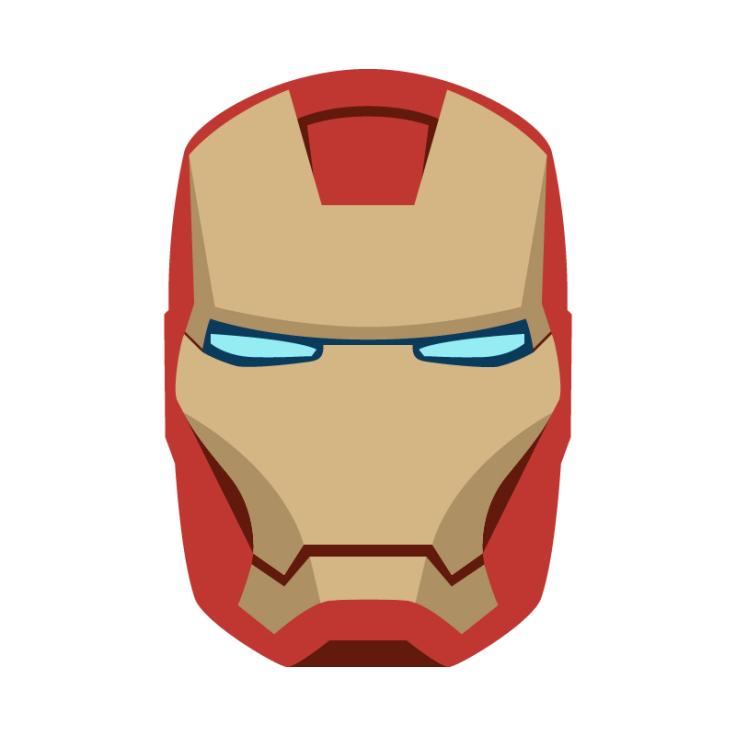 736x736 Masks Clipart Iron Man