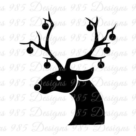570x570 Reindeer Svg For Cricut And Silhouette By 985 Graphic Designs