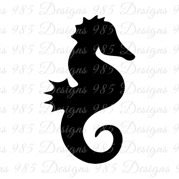 570x570 Sea Horse Svg For Cricut And By 985 Graphic Designs On Zibbet