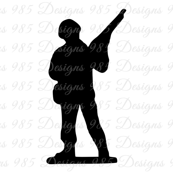 570x570 Soldier Svg For Cricut And Silhouette By 985 Graphic Designs On Zibbet