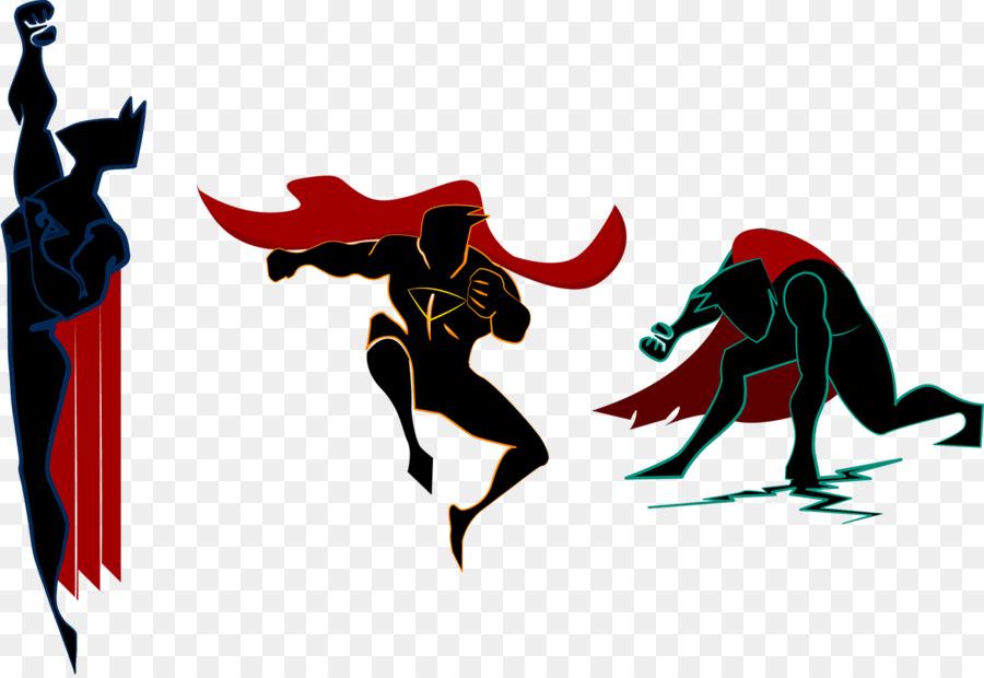 900x620 Superman Iron Man Superhero Silhouette