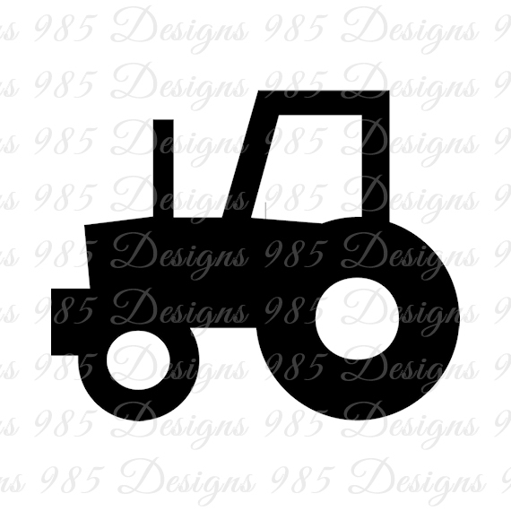 570x570 Tractor Svg For Cricut And Silhouette By 985 Graphic Designs On Zibbet