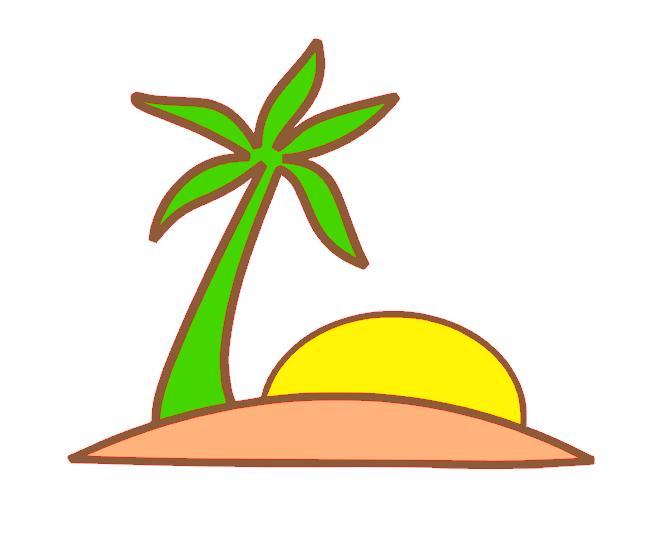 670x551 Silhouette Studio 3 Palm Island Cut File Craftisan Studios