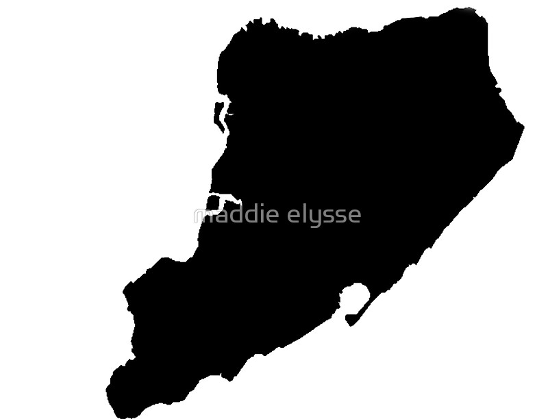 800x612 Staten Island Silhouette Stickers By Maddie Elysse Redbubble