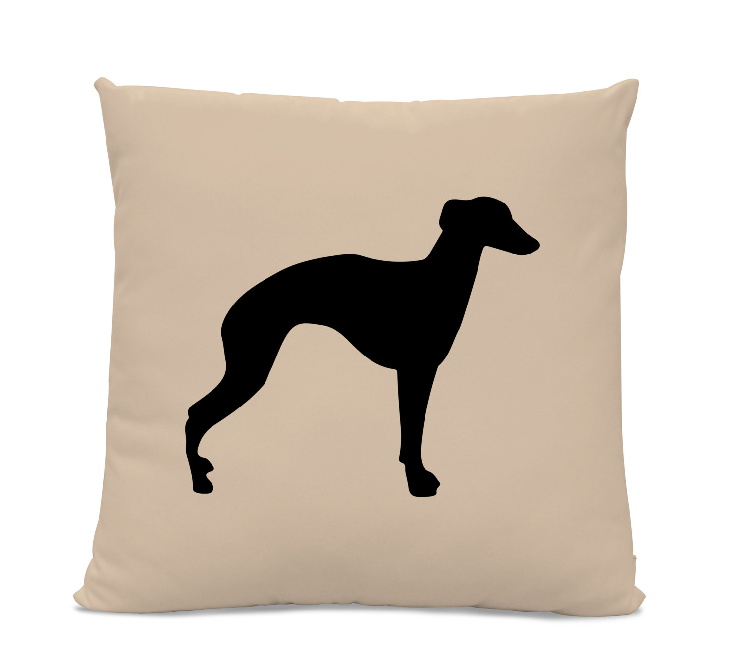 1500x1335 Greyhound Silhouette Pillow Your Choice Of Color Modern