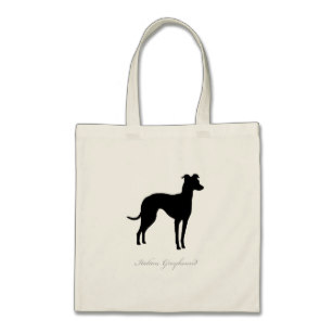 307x307 Italian Greyhound Silhouette Bags Amp Handbags Zazzle