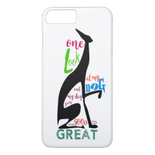 307x307 Italian Greyhound Silhouette Gifts On Zazzle