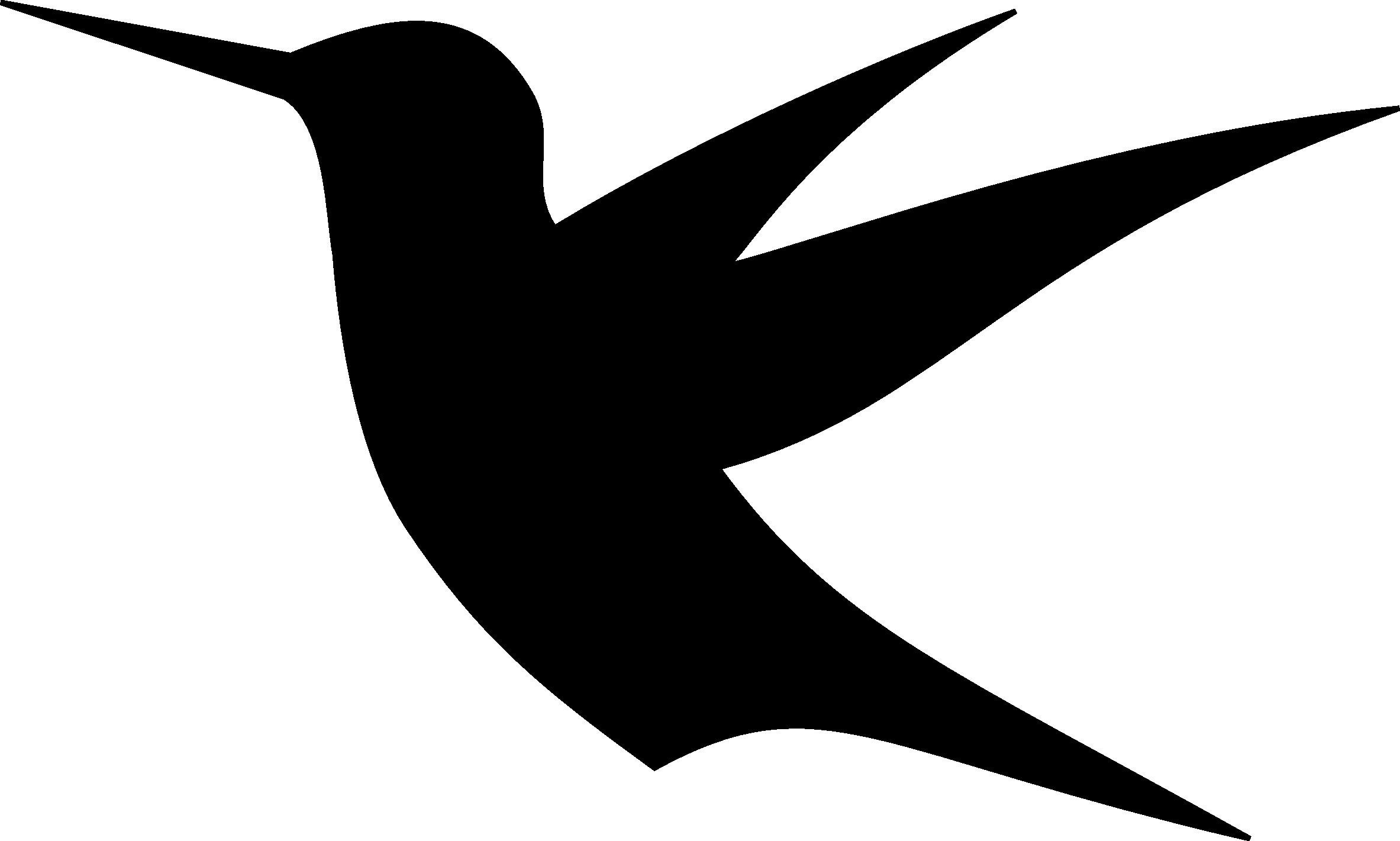 2366x1421 Hummingbird Silhouette